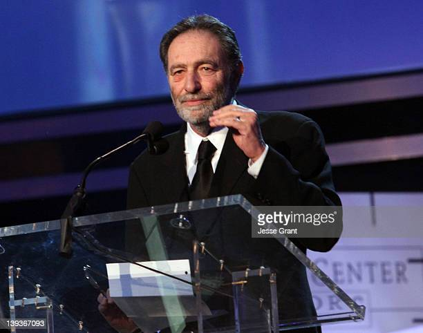 Writer Eric Roth accepts the Laurel Award for Screen onstage during the 2012 Writers Guild Awards at the Hollywood Palladium on February 19 2012 in...