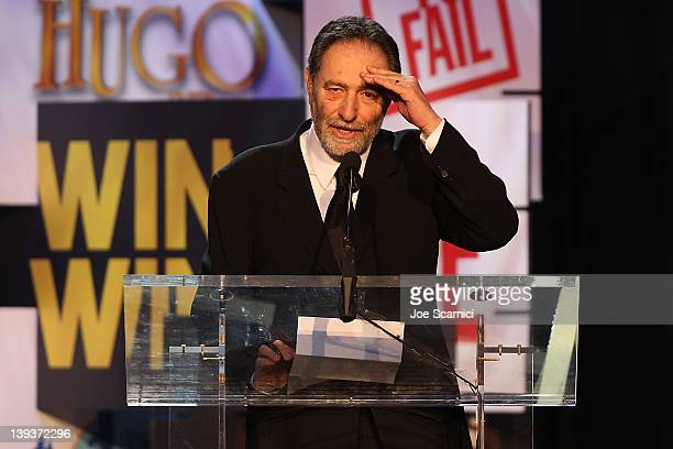 Writer Eric Roth accepts the Laurel Award for Screen onstage during the 2012 Writers Guild Awards at Hollywood Palladium on February 19 2012 in...