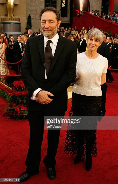 Writer Eric Roth and guest arrive at the 81st Annual Academy Awards held at The Kodak Theatre on February 22 2009 in Hollywood California