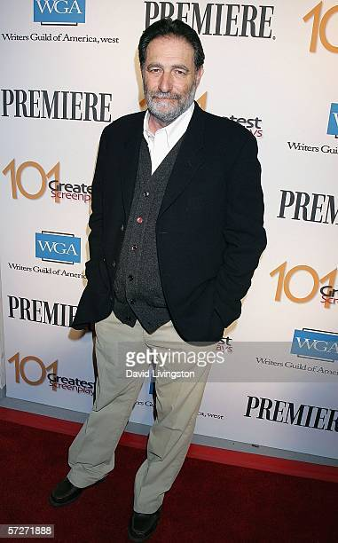 Writer Eric Roth arrives at the 101 Greatest Screenplays gala reception at the Writers Guild Theater on April 6 2006 in Beverly Hills California