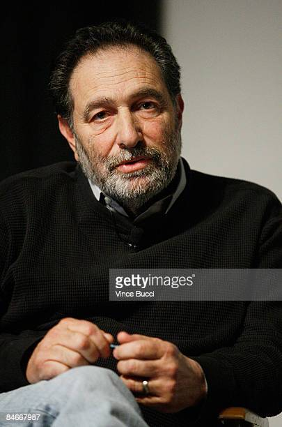 Writer Eric Roth attends 'Beyond Words' a panel discussion with Oscar nominated screenwriters at the Writers Guild Theater on February 5 2009 in...