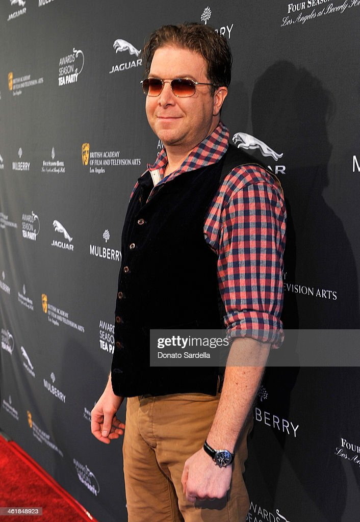 Writer Eric Warren Singer attends the BAFTA LA Awards Season Tea Party with Mulberry at the Four Seasons Hotel Los Angeles at Beverly Hills on January 11, 2014 in Beverly Hills, California.