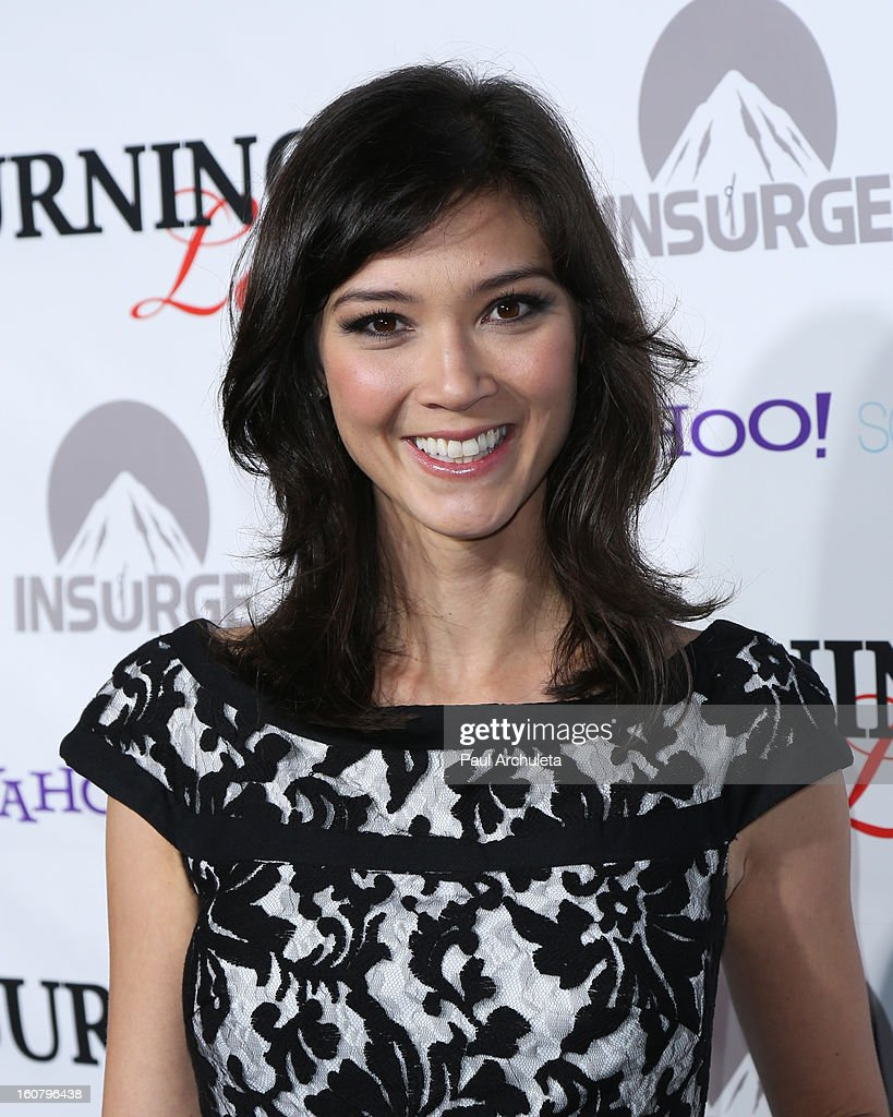 Writer Erica Oyama attends the 'Burning Love' Season 2 Los Angeles Premiere at Paramount Theater on the Paramount Studios lot on February 5, 2013 in Hollywood, California.