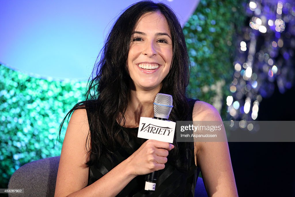 Writer Erin Levy speaks onstage at the 'TV's Creative Trailblazers' panel during Tune In! Variety's TV Summit at Intercontinental Century City on August 6, 2014 in Century City, California.