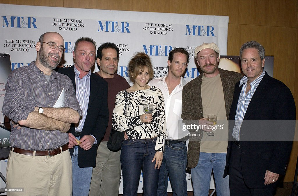 Writer / executive producer Andy Breckman Stanley Kamel actor / producer Tony Shalhoub Bitty Schram Jason GrayStanford Ted Levine and executive...