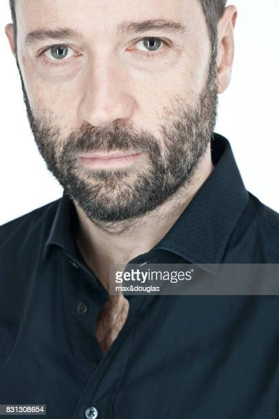 Writer Fabio Volo is photographed for GIOA on November 24 2011 in Rome Italy