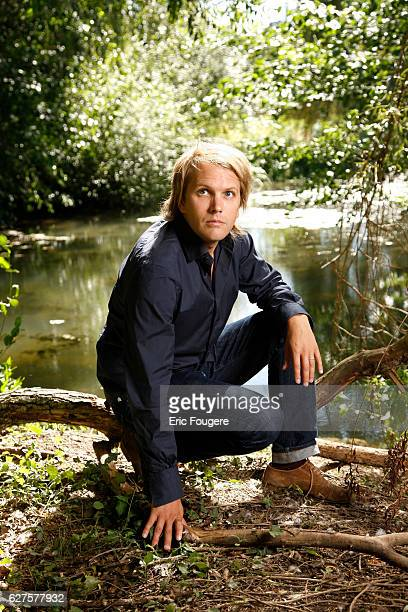 Writer Florian Zeller Photographed in PARIS