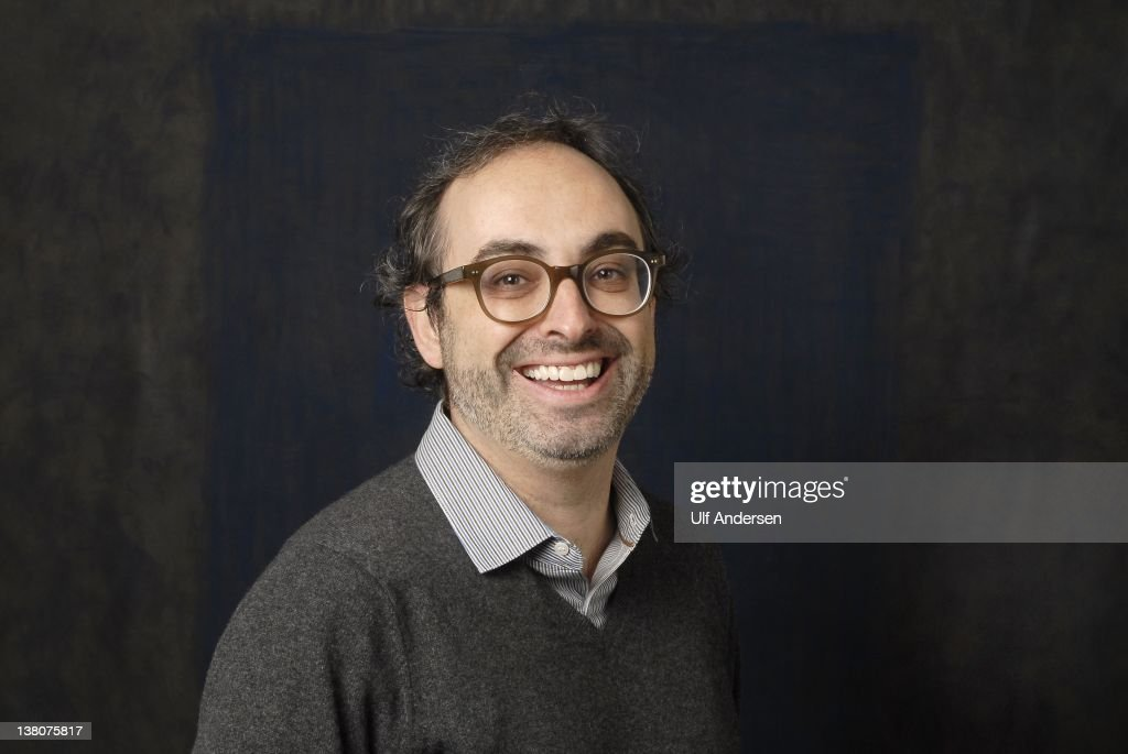US writer <a gi-track='captionPersonalityLinkClicked' href=/galleries/search?phrase=Gary+Shteyngart&family=editorial&specificpeople=2095353 ng-click='$event.stopPropagation()'>Gary Shteyngart</a> poses during a portrait session held on January 20, 2012 in Paris, France.