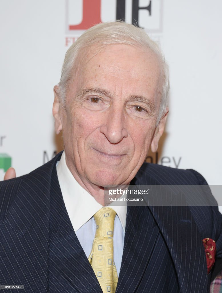 Writer Gay Talese attends the closing night awards during the 2013 First Time Fest at The Players Club on March 4, 2013 in New York City.
