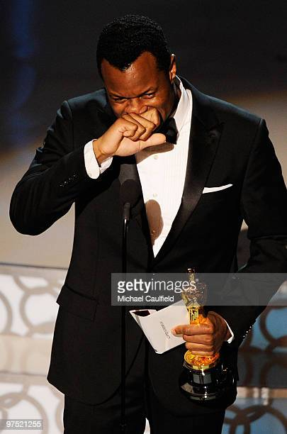 Writer Geoffrey Fletcher onstage during the 82nd Annual Academy Awards held at Kodak Theatre on March 7 2010 in Hollywood California