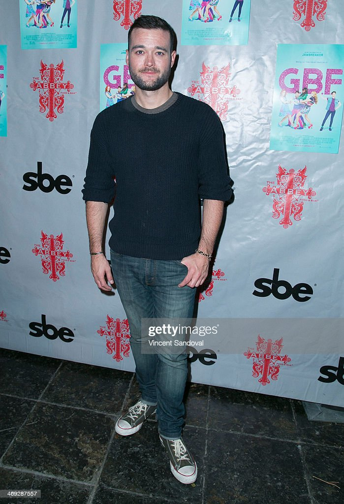 Writer George Northy attends the 'G.B.F.' DVD release party at The Abbey on February 13, 2014 in West Hollywood, California.
