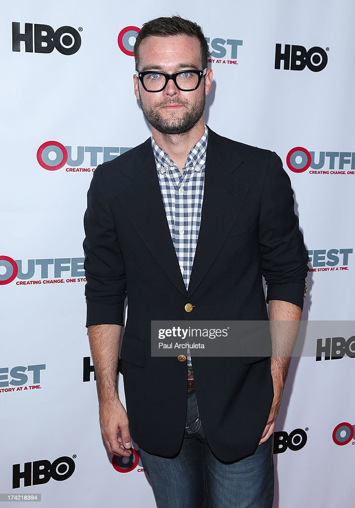 Writer George Northy attends the screening of 'G.B.F.' at the 2013 Outfest film festival closing night gala at the Ford Theatre on July 21, 2013 in Hollywood, California.