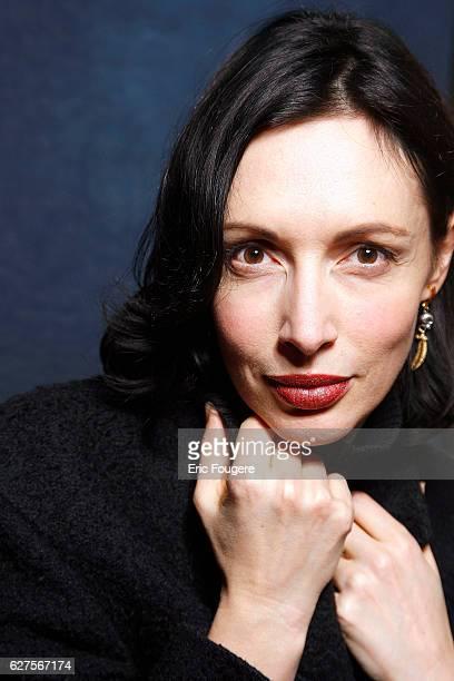 Writer Geraldine Maillet Photographed in PARIS