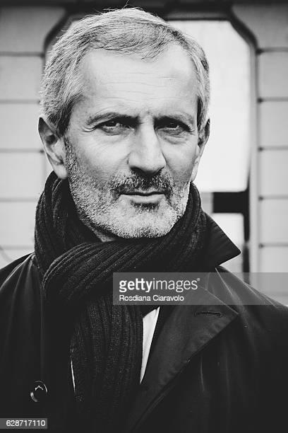 Writer Gianrico Carofiglio attends Noir In Festival 2016 on December 9 2016 in Como Italy