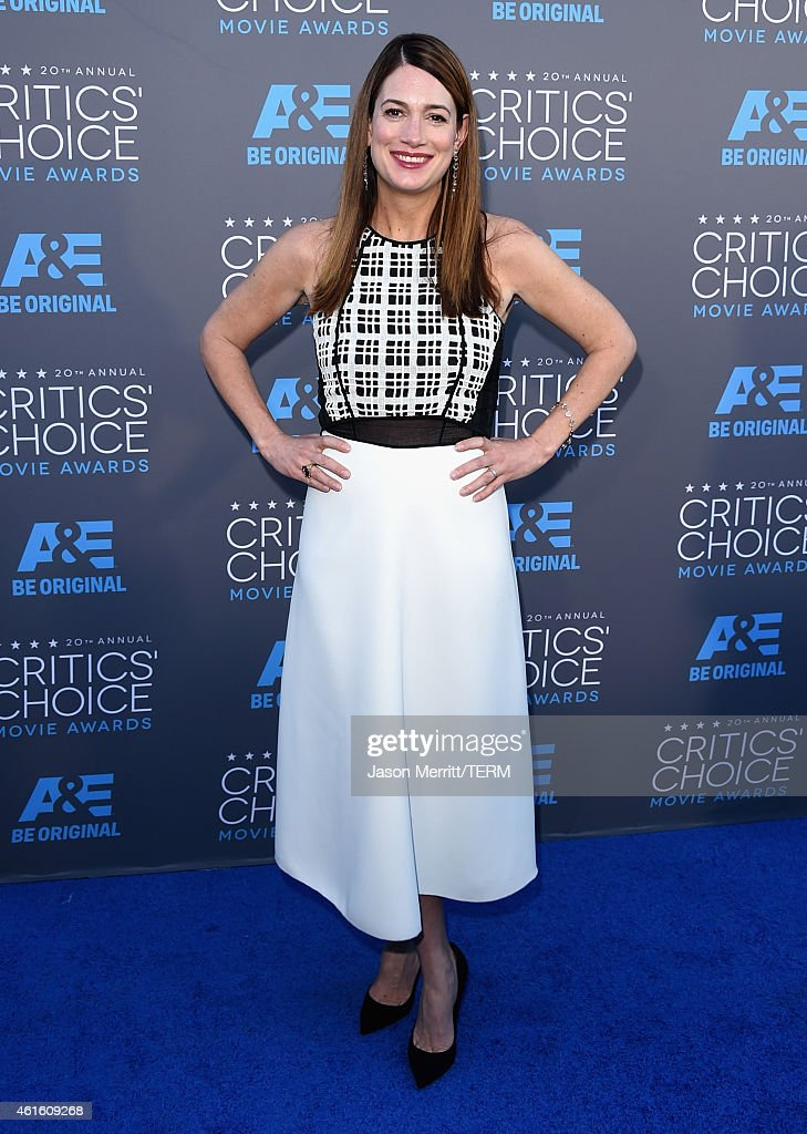 Writer Gillian Flynn attends the 20th annual Critics' Choice Movie Awards at the Hollywood Palladium on January 15, 2015 in Los Angeles, California.