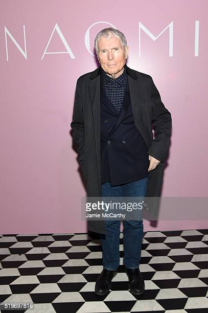 Writer Glenn O'Brien attends as Marc Jacobs Benedikt Taschen celebrate NAOMI at The Diamond Horseshoe on April 7 2016 in New York City