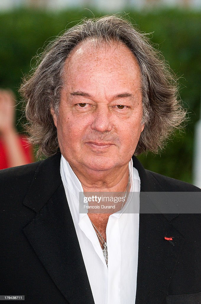 Writer Gonzague Saint Bris arrives at the premiere of the film 'Very Good Girls' during the 39th Deauville American Film Festival on September 3, 2013 in Deauville, France.