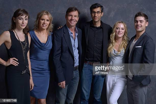 Writer Hallie Elizabeth Newton actress Kim Dickens actor Dennis Quaid director/writer Ramin Bahrani actress Maika Monroe and actor Zac Efron of 'At...