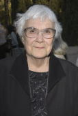 Writer Harper Lee attends the reception prior to the Library Foundation of Los Angeles 2005 Awards Dinner honoring Harper Lee at the Richard J...