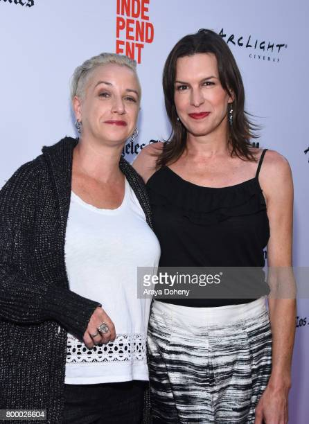Writer Helen Boyd Kramer and Rachel Crowl attend the Closing Night Screening of 'Ingrid Goes West' during the 2017 Los Angeles Film Festival at...