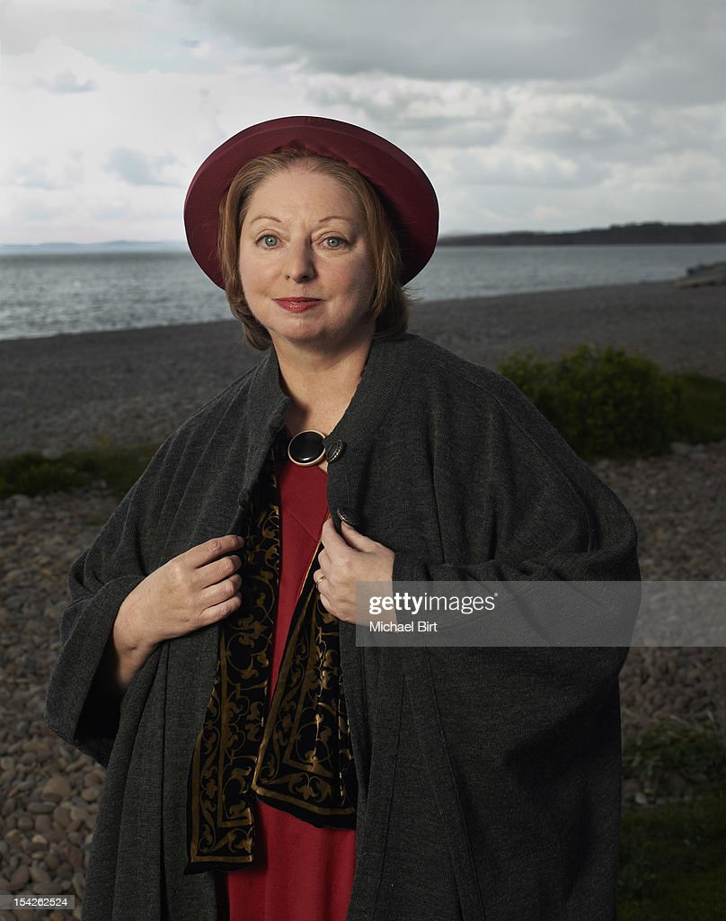 Writer <a gi-track='captionPersonalityLinkClicked' href=/galleries/search?phrase=Hilary+Mantel&family=editorial&specificpeople=590045 ng-click='$event.stopPropagation()'>Hilary Mantel</a> is photographed for Newsweek on April 22, 2012 in Budleigh Salterton, England.
