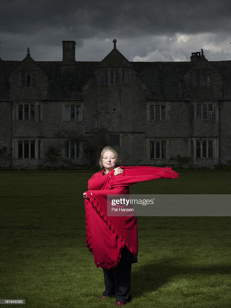 Writer <a gi-track='captionPersonalityLinkClicked' href=/galleries/search?phrase=Hilary+Mantel&family=editorial&specificpeople=590045 ng-click='$event.stopPropagation()'>Hilary Mantel</a> is photographed for the Sunday Times magazine on May 13, 2012 in London, England.