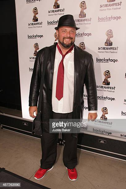 Writer Igor Maltagliati attends the Screamfest Horror Film Festival Black Carpet Event at TCL Chinese Theatre on October 14 2014 in Hollywood...