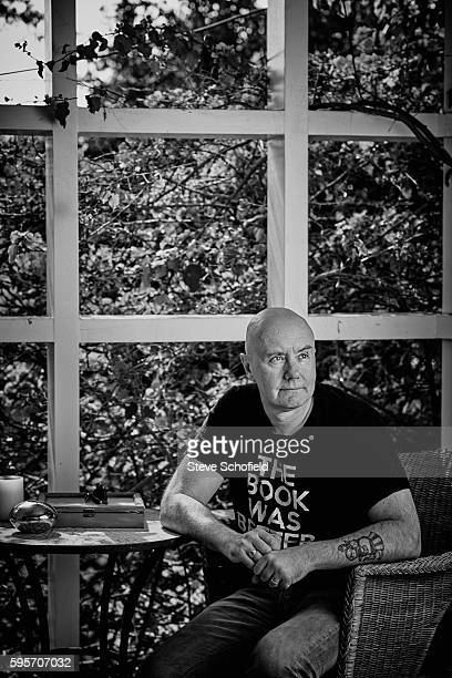 Writer Irvine Welsh is photographed for Esquire magazine on February 23 2016 in Los Angeles California
