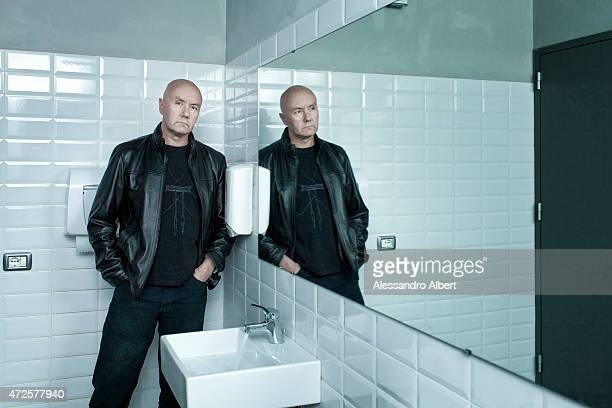 Writer Irvine Welsh is photographed for Self Assignment on May 03 2015 in Turin Italy