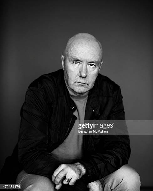 Writer Irvine Welsh is photographed for the Independent on April 21 2014 in London England