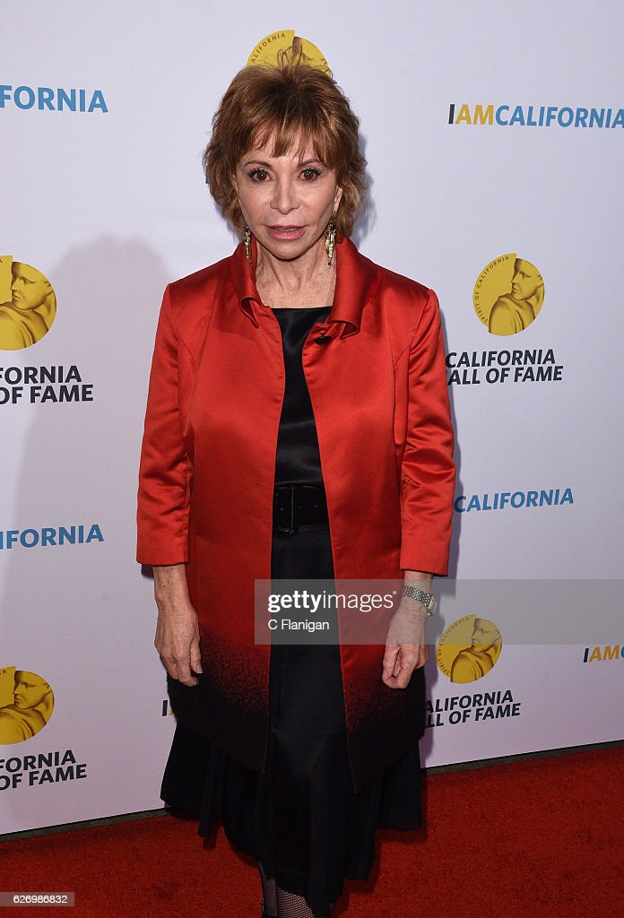 Writer Isabel Allende attends the 10th Annual California Hall Of Fame Ceremony at The California Museum on November 30, 2016 in Sacramento, California.