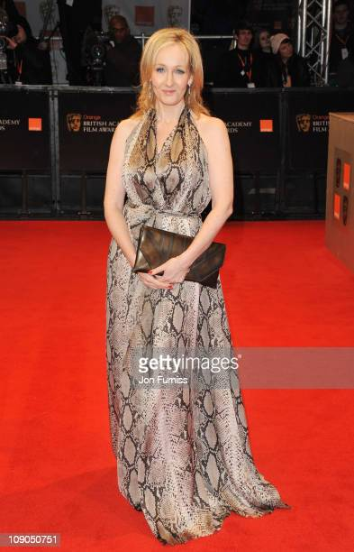 Writer J K Rowling attends the 2011 Orange British Academy Film Awards at The Royal Opera House on February 13 2011 in London England