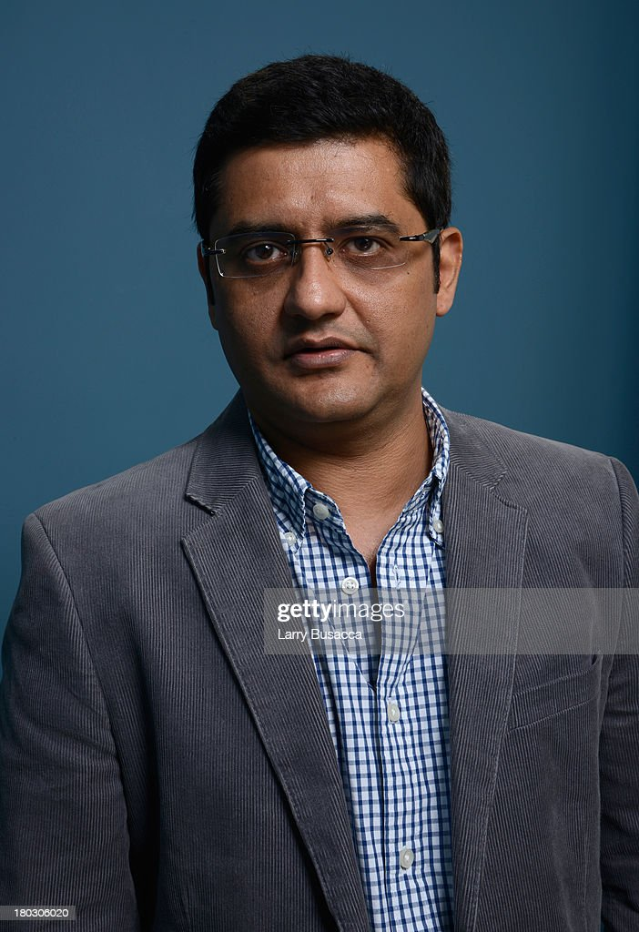 Writer Jaideep Sahni of 'Random Desi Romance' poses at the Guess Portrait Studio during 2013 Toronto International Film Festival on September 11, 2013 in Toronto, Canada.