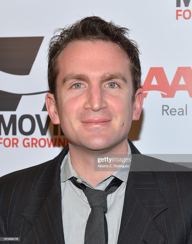 Writer Jake Schreier arrives to AARP The Magazine's 12th Annual Movies for Grownups Awards Luncheon at Peninsula Hotel on February 12, 2013 in Beverly Hills, California.