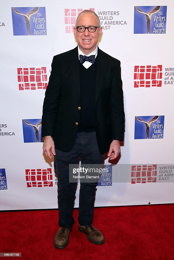 Writer <a gi-track='captionPersonalityLinkClicked' href=/galleries/search?phrase=James+Schamus&family=editorial&specificpeople=628217 ng-click='$event.stopPropagation()'>James Schamus</a> attends The 66th Annual Writers Guild Awards East Coast Ceremony at The Edison Ballroom on February 1, 2014 in New York City.