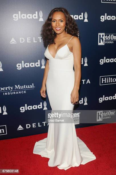 Writer Janet Mock attends as Ketel One Vodka sponsors the 28th Annual GLAAD Media Awards in New York at The Hilton Midtown on May 6 2017 in New York...