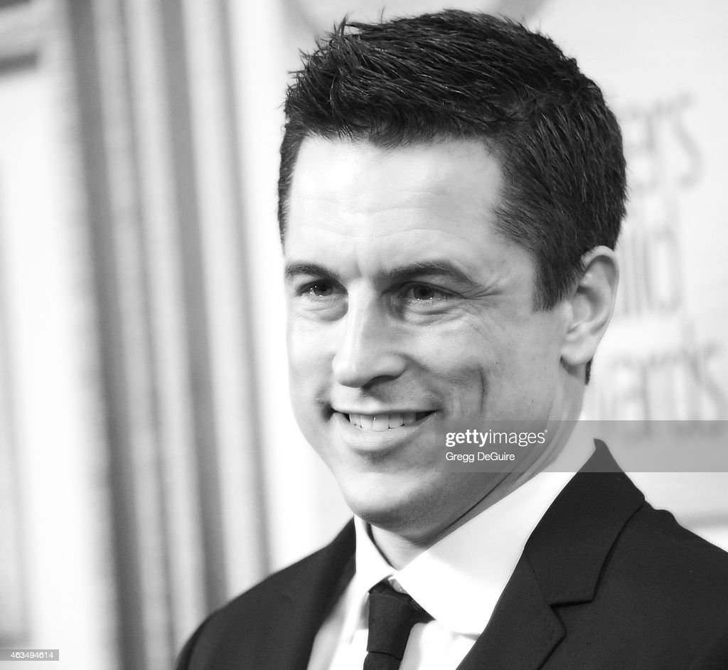 Writer Jason Hall arrives at the 2015 Writers Guild Awards L.A. Ceremony at the Hyatt Regency Century Plaza on February 14, 2015 in Los Angeles, California.
