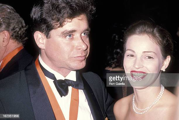 Writer Jay McInerney and model Marla Hanson attend 'A Decade of Literary Lions The Pride of The New York Public Library' Gala to Benefit the...