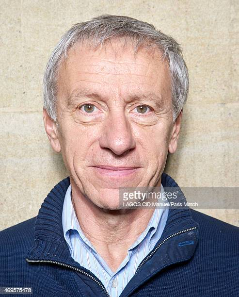 Writer JeanChristophe Rufin is photographed for Paris Match on March 31 2015 in Paris France