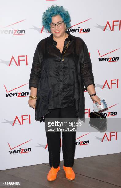 Writer Jenji Kohan attends the 14th annual AFI Awards Luncheon at the Four Seasons Hotel Beverly Hills on January 10 2014 in Beverly Hills California
