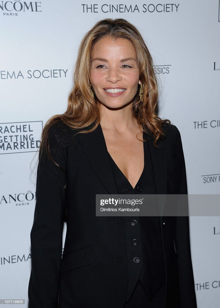 Writer Jenny Lumet attends the Cinema Society and Lancome screening of 'Rachel Getting Married' at the Landmark Sunshine Theater on September 25, 2008 in New York City.