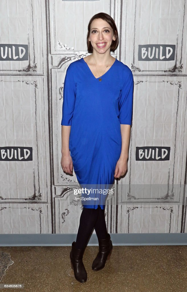 Writer Jessica Grose attends the Build series to discuss 'Girls' Final Season at Build Studio on February 10, 2017 in New York City.
