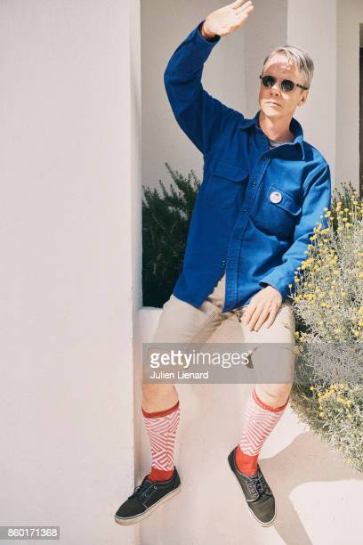 Writer John Cameron Mitchell is photographed for Self Assignment on May 23 2017 in Cannes France