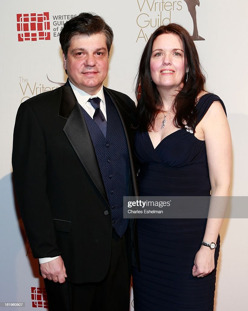 Writer John Esposito and Karen Esposito attend the 65th Annual Writers Guild East Coast Awards at B.B. King Blues Club & Grill on February 17, 2013 in New York City.