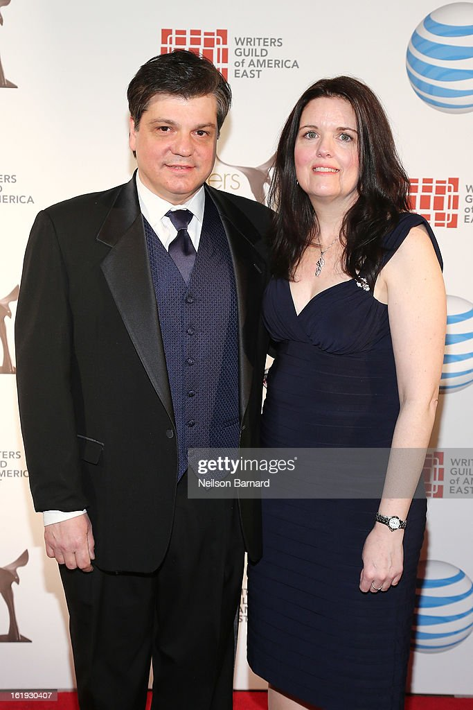 Writer John Esposito (L) attends the 65th annual Writers Guild East Coast Awards at B.B. King Blues Club & Grill on February 17, 2013 in New York City.