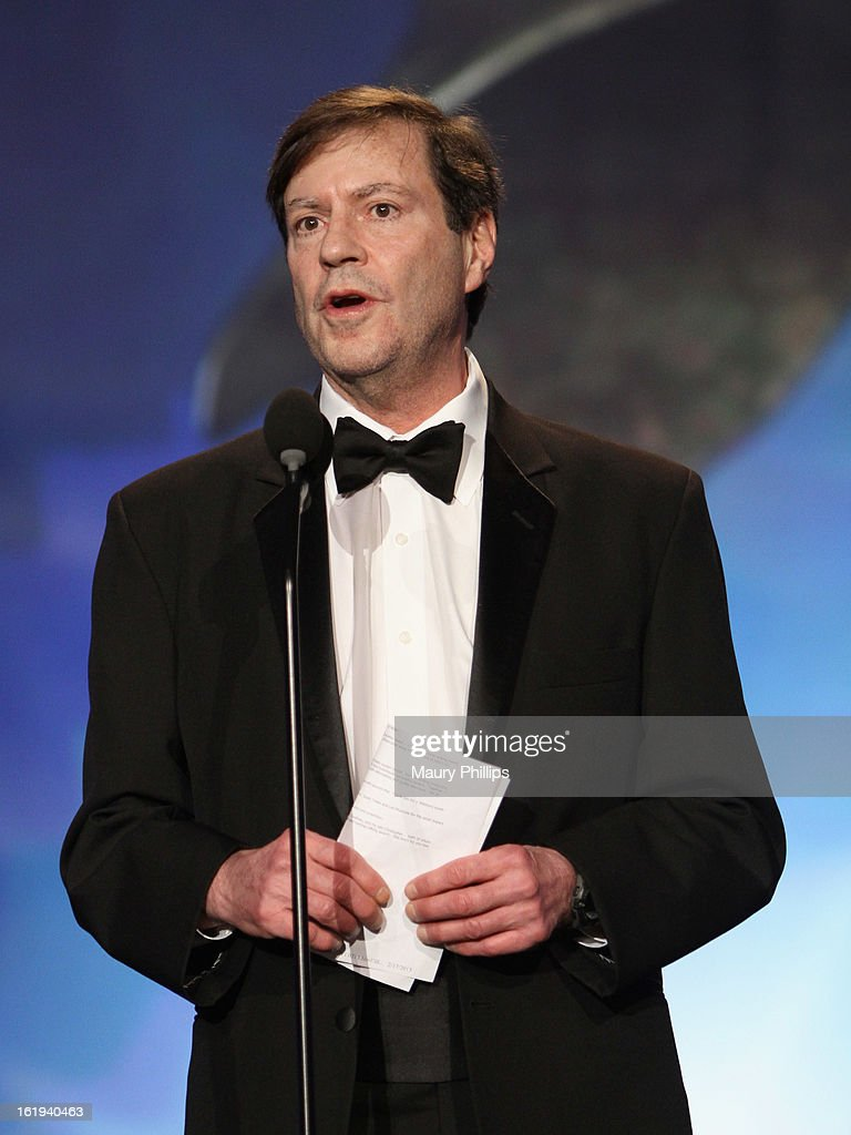 Writer John Falsey accepts The Paddy Chayefsky Laurel Award for Television Writing Achievement onstage at the 2013 WGAw Writers Guild Awards at JW Marriott Los Angeles at L.A. LIVE on February 17, 2013 in Los Angeles, California.