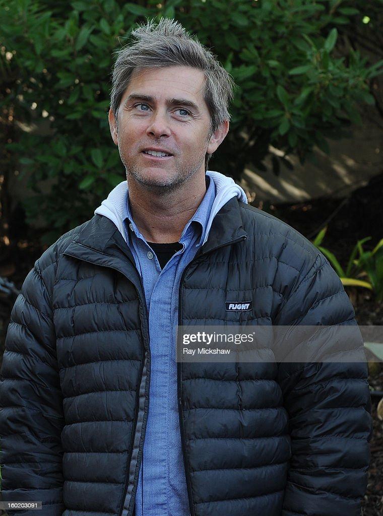 Writer John Gatins attends the 28th Santa Barbara International Film Festival Writers Panel at the Lobero theatre on January 26, 2013 in Santa Barbara, California.