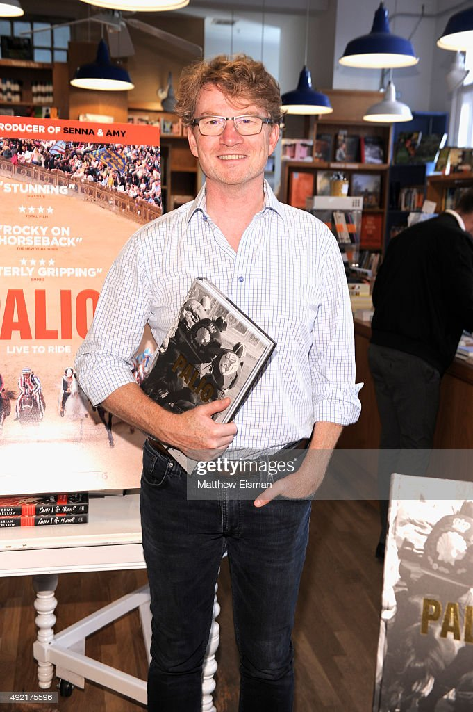Writer John Hunt attends 'Palio' photo call on Day 3 of the 23rd Annual Hamptons International Film Festival on October 10, 2015 in East Hampton, New York.