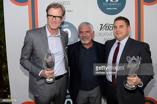 Writer John Lee Hancock Festival Director Darryl McDonald and actor Jonah Hill attend Variety's Creative Impact Awards and 10 Directors to Watch...