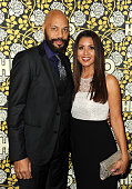 Writer John Ridley and wife Gayle Ridley attend HBO's post 2016 Golden Globe Awards party at Circa 55 Restaurant on January 10 2016 in Los Angeles...